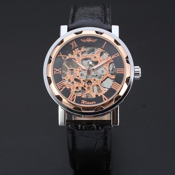 Недорогие часы Winner Skeleton - Bronze.Купить в интернет-магазине 503e5f6b144